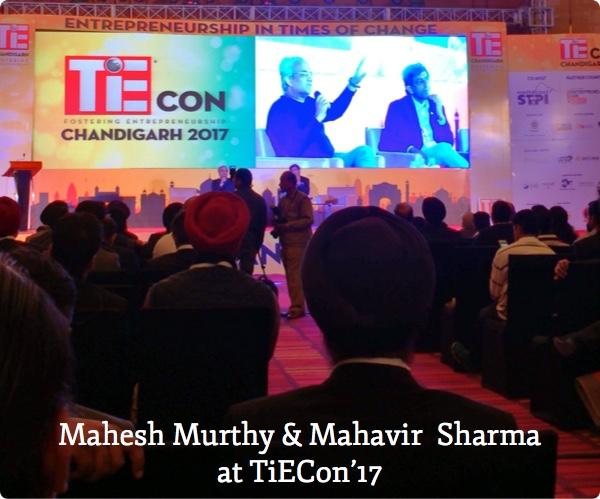 Mahesh and Mahavir at TiECon'17