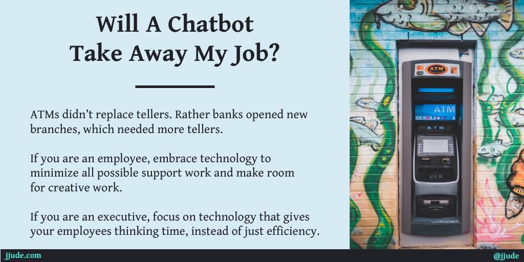 Technology enhances job, not eliminate it