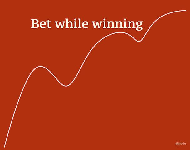 Bet While Winning