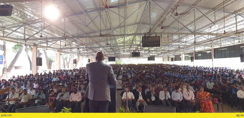 Addressing Karunya Students