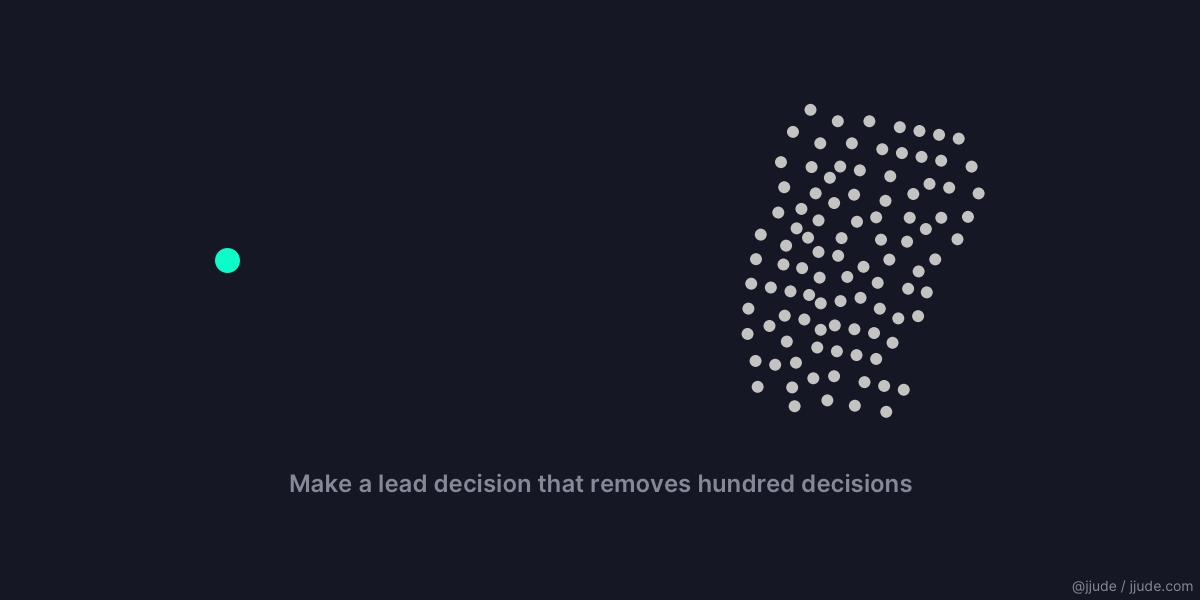 """Lead Decisions"""