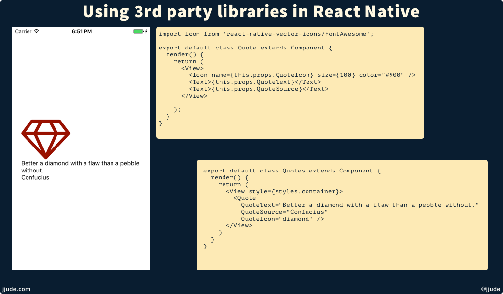 3rd Party Libraries in React Native