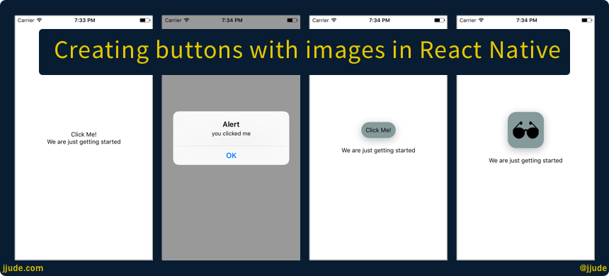 Buttons with images in React Native